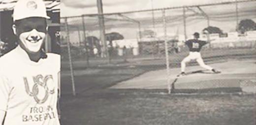 Dave Latter, USC Trojan baseball
